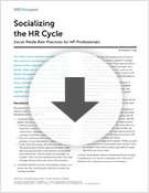 Socializing the HR Cycle
