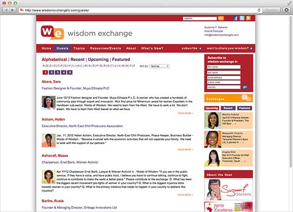 Wisdom Exchange TV by 108Ideaspace