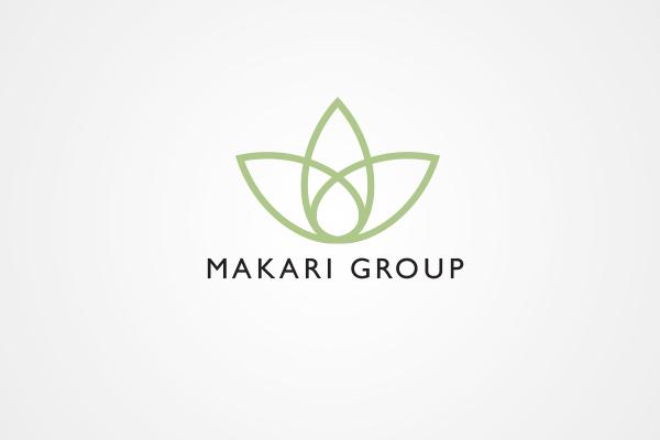 Makari Group logo by 108ideaspace