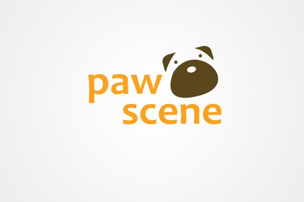 Paw Scene logo by 108ideaspace