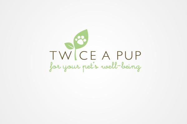 Twice A Pup logo by 108ideaspace