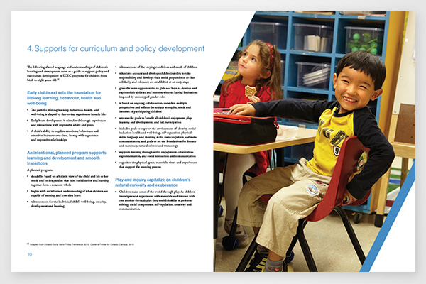Early Childhood Education and Care report for The Organisation for Economic Co-operation and Development by 108 ideaspace