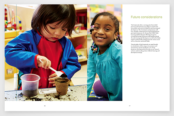 Future considerations to the early learning and development framework by Council of Ministers of Education, Canada