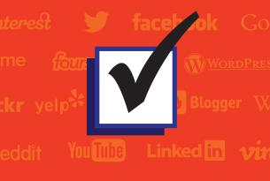 Social Media Tick Box